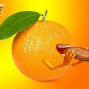 بسكت البرتقال