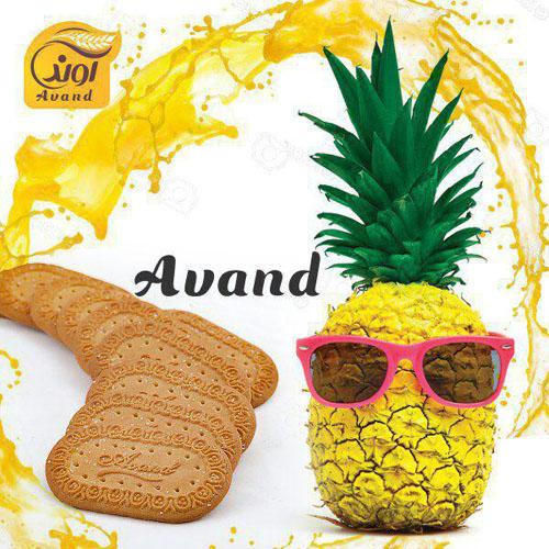 بیسکویت آناناس